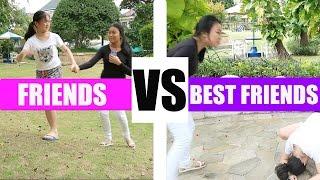 Friends Vs Best Friends ft. Jessica Effendy   Adel Ivanka