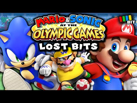 Mario & Sonic at the Summer Olympic Games LOST BITS | Unused Content [TetraBitGaming] |