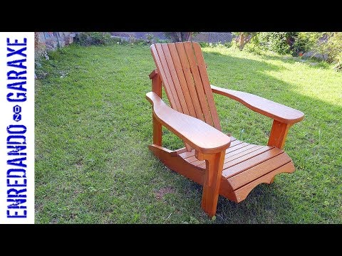 How to assemble the Adirondack chair ☀️😎