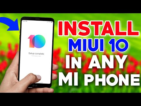 MIUI 10 install in All XIAOMI Phones🔥|| FULL VIDEO ✓ COMPLETE PROCESS