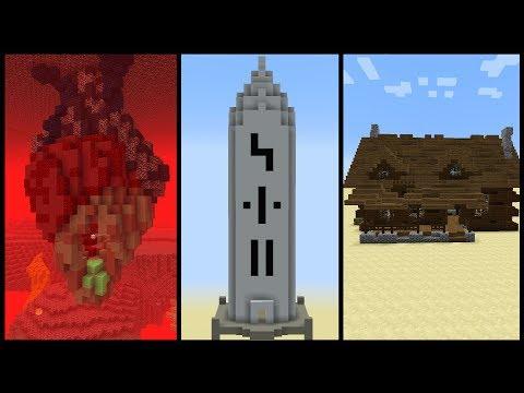 5 Minecraft Structure Ideas!