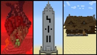 5 Minecraft Structure Ideas!