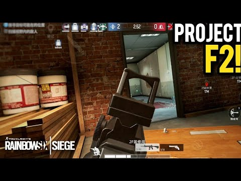 Rainbow Six Siege On MOBILE? PROJECT F2 First Look! Android BETA Gameplay 60fps