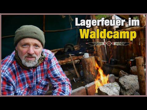 ???? Der Herbst ist da ! ???? ** Lagerfeuer im Waldcamp ** / campfire in autumn