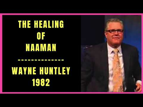 The Healing of Naaman by Wayne Huntley 1982