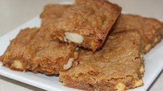 White Chocolate Macadamia Nut Bar