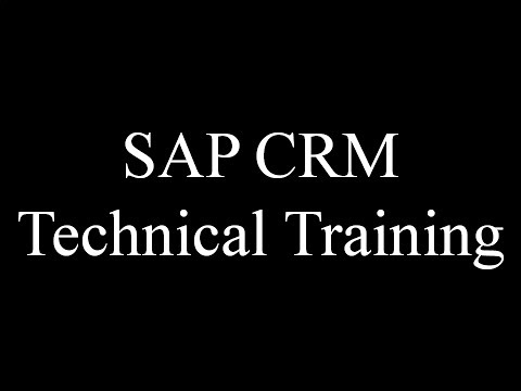 Sap crm middleware tutorial, tcodes and pdf guides.