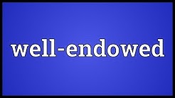Well-endowed Meaning