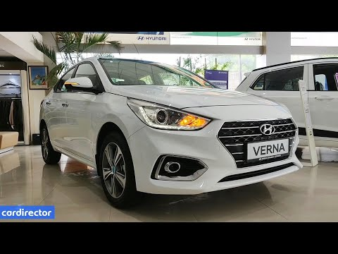 Hyundai Verna SX(O) 2019 | Verna 2019 Top Model Features | Interior And Exterior | Real-life Review