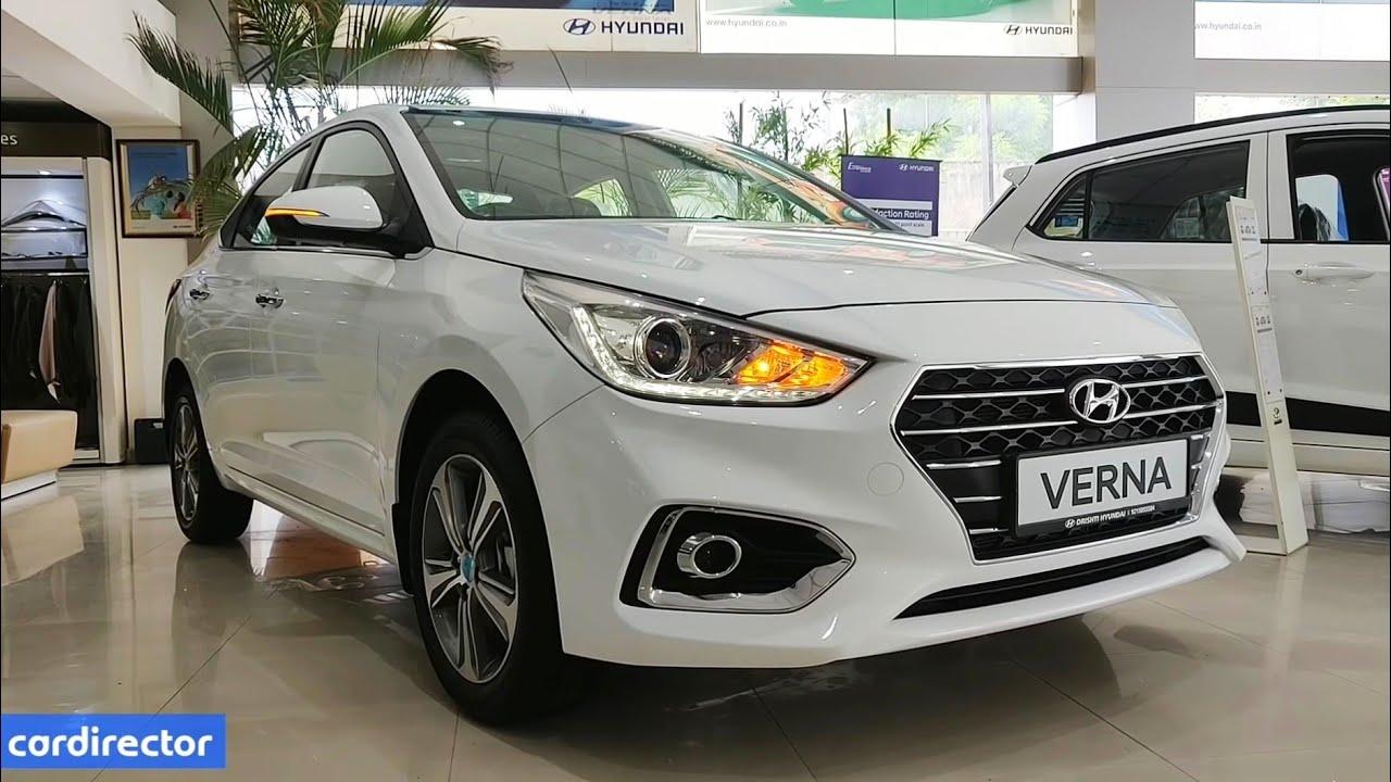 Hyundai Verna Sx O 2019 Verna 2019 Top Model Features