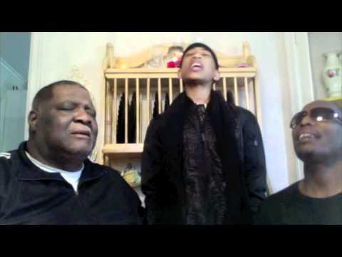 Jacob Latimore sings w/Grandad & Dad