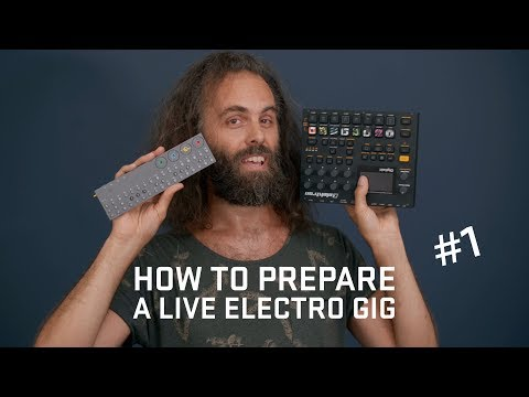 How to prepare a live electro gig Pt.1 (announcement)