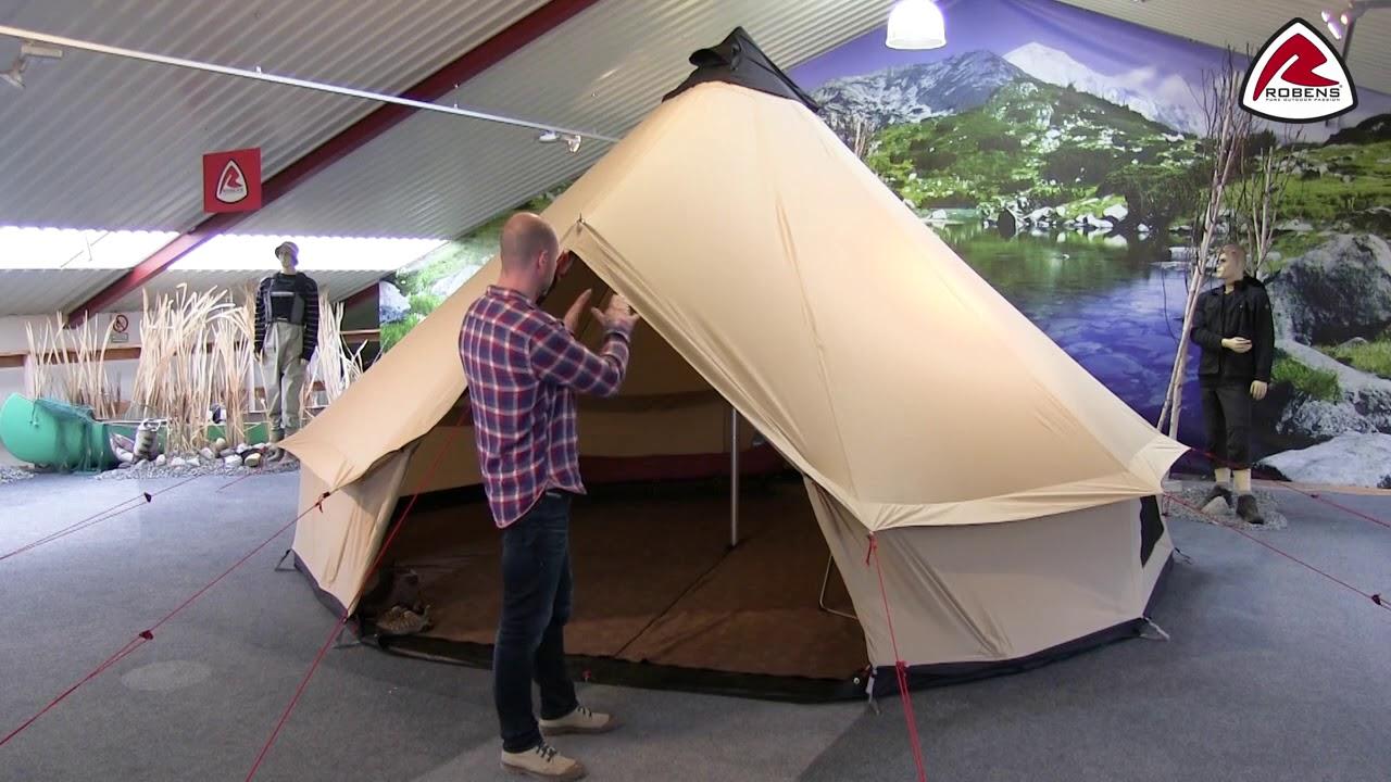 Robens Outback Klondike Grande Tent Footprint Black