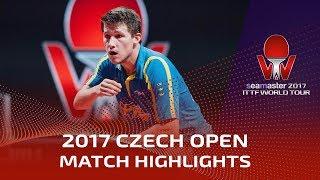 2017 Czech Open Highlights: Tomokazu Harimoto vs Kristian Karlsson (1/4)