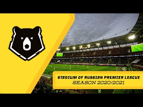 WORLD Of STADIUM V 1.0. RUSSIAN PREMIER LEAGUE STADIUMs