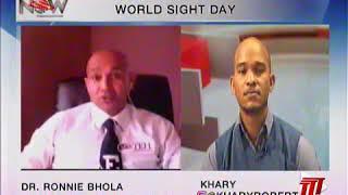TEH & DATT on World Sight Day 2020 on TTT The Morning Show