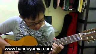 追梦人 Zhui Meng Ren - Feng Fei Fei 凤飞飞 - Fingerstyle Guitar Solo