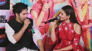 Alia Bhatt Will Be A GOOD BAHU, Says Varun Dhawan | Badrinath Ki Dulhania Trailer Launch