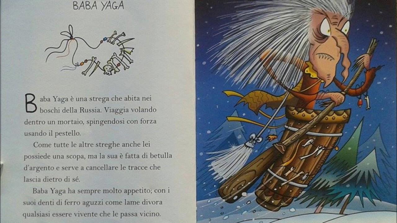 Il piccolo libro delle streghe baba yaga youtube