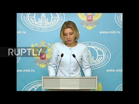 Russia: US media comments on Syria ceasefire 'illogical and counterproductive' - Zakharova