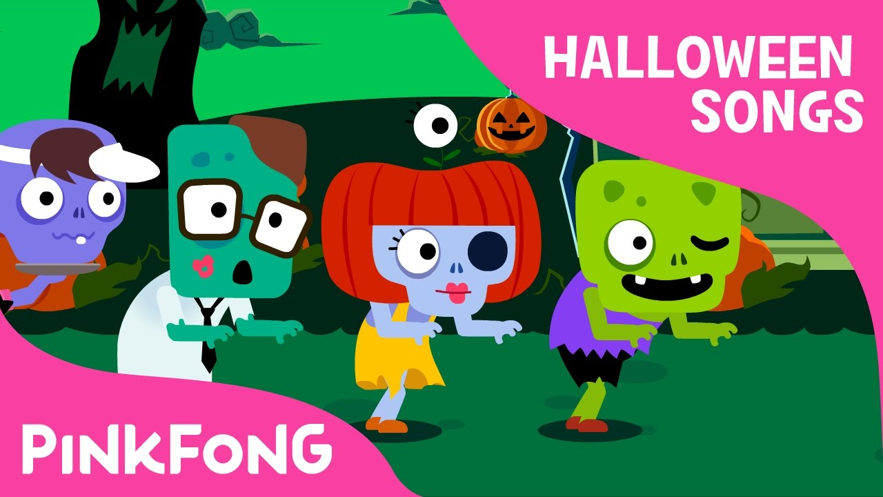 Creepy Zombies | Halloween Songs | PINKFONG Songs for Children