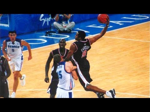 USA vs France 2000 Sydney Olympics Men's Basketball Group Stage FULL GAME French