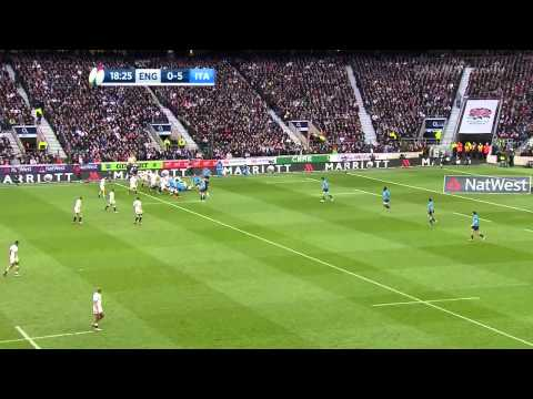 England v Italy 14/02/15  RBS 6 Nations