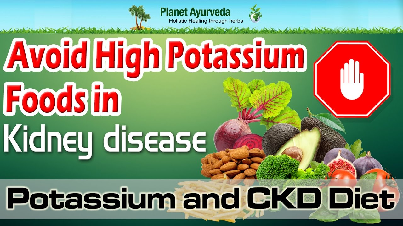 High Potassium Foods To Avoid On Renal Diet
