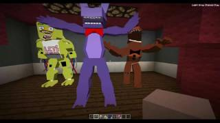 Minecraft - Five Nights at Freddy's Roleplay Map [Live Stream]