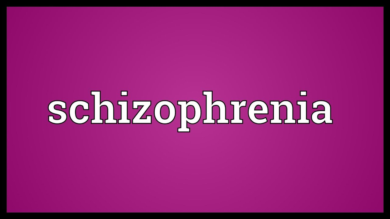 schizophrenia meaning in telugu