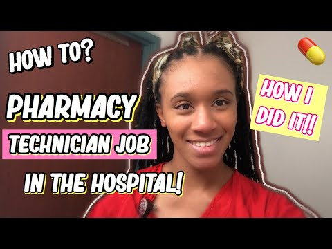 How To Get A Hospital Job As A Pharmacy Technician