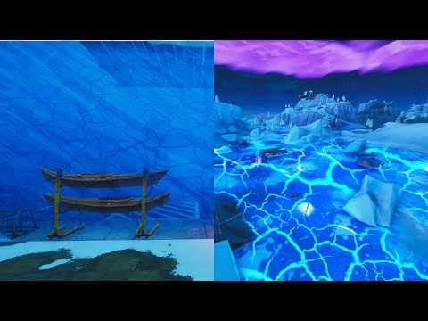 "Fortnite Polar Peak Event ""Fortnite Greasy Grove Melting"" (Fortnite Battle Royale Live Event)"