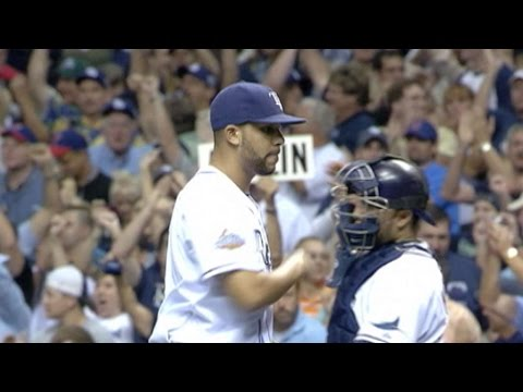 WS2008 Gm2: Price goes 2 1/3 innings in Rays win