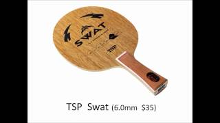 Top10 Table Tennis 7ply Allwood Blades