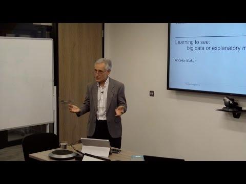 Fellow Short Talks: Professor Andrew Blake, Alan Turing Institute Director