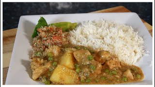 JAMAICA CURRY CHICKEN WITH RICE | Chef Ricardo Cooking | THAI GREEN CURRY PART 7 !!