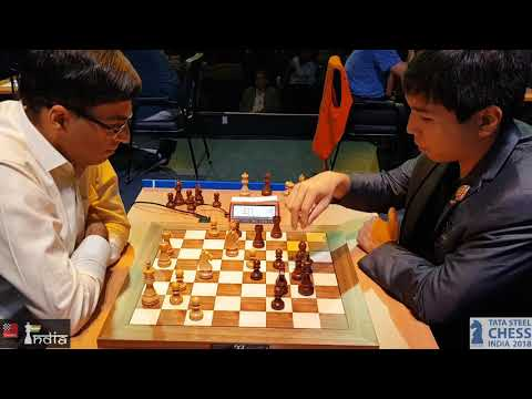 Vishy Anand vs Wesley So | Check So's expression towards the end| Tata Steel Chess India Blitz 2018