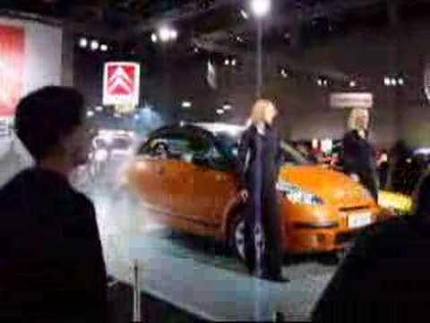 Citroën C3 Pluriel presentation in Helsinki Motor Show 2002
