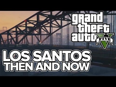 Gta   Los Santos Sights Then And Now Gta  Vs Gta San Andreas