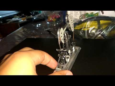 Gearbest ZOYO Oil Drilling Machine Design Puzzle - SILVER