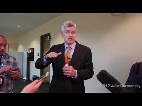 Sen. Bill Cassidy after Metairie Townhall Meeting