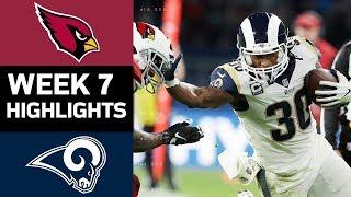 Cardinals Vs. Rams   Nfl Week 7 Game Highlights