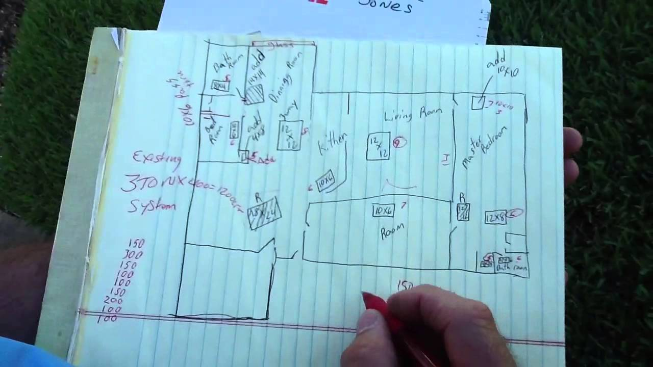Real World Duct Design Youtube Hvac And Drawing