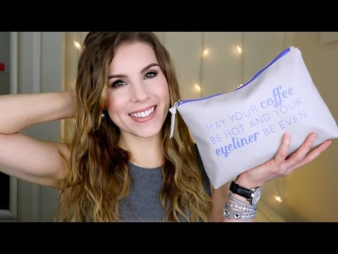 Get Ready With Me! What's in my Travel Makeup Bag?