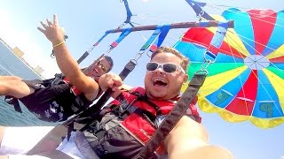 EPIC PARASAILING OVER THE GULF OF MEXICO!