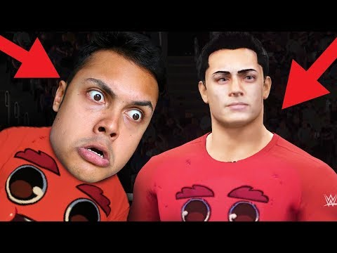THEY PUT ME IN THE VIDEO GAME !!! (WWE 2K18 Royal Rumble)