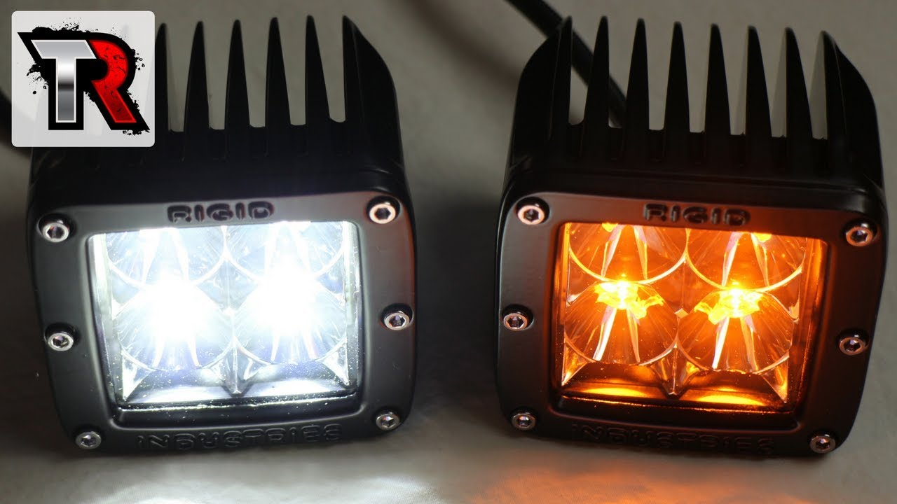 Rigid Industries Amber Led Flood Light Review Youtube