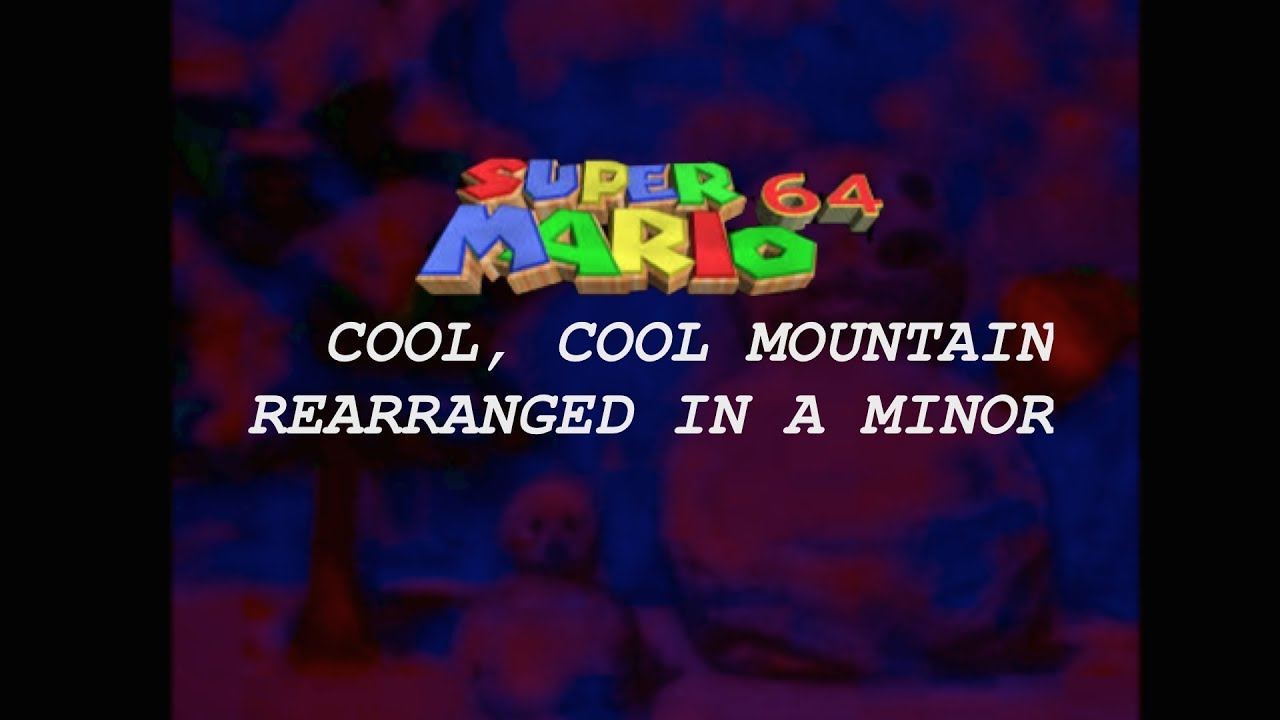 Super mario 64 cool cool mountain music