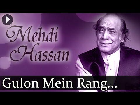 Gulon Mein Rang (HD) - Mehndi Hasan Songs - Top Ghazal Songs