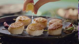 This is the moment you realise you can buy Scallops...